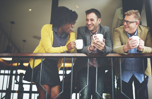 Coffee as a conversation starter