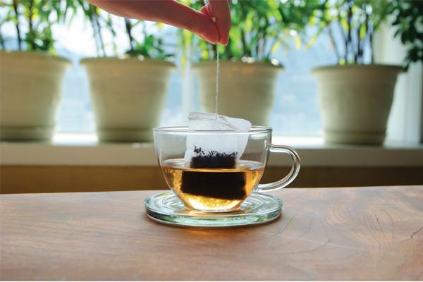Lenzing teabag